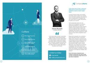 Business Brochure Inner